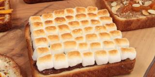 S'Mores Sandwich Assorted Open Faced Sandwiches