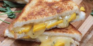 Mango Brie Grilled Cheese