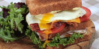 Bold N' Spicy Bacon and Egg Stacker