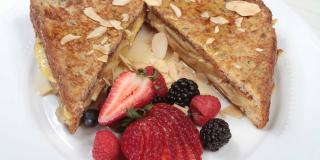 Apple-Almond French Toast Sandwich