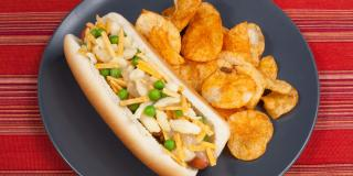Poutine Hot Dog