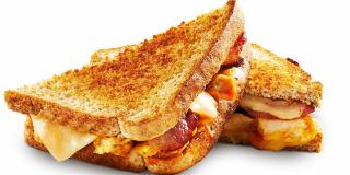 Bacon BBQ Grilled Cheese