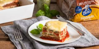 Layered Cheese Lasagna
