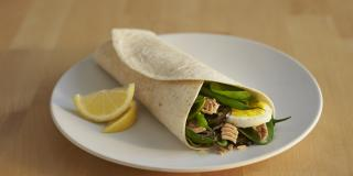 Tuna Nicoise Wraps