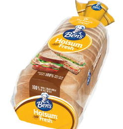 Eat healthy with Ben's® Holsum Wheat